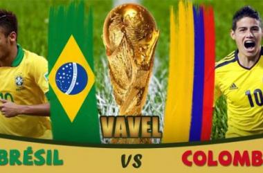Live Coupe du Monde 2014: Brésil - Colombie