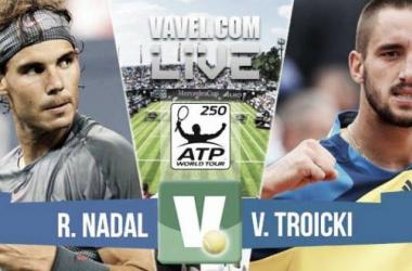 Resultado Nadal - Troicki en la final del ATP 250 Stuttgart 2015 (2-0)