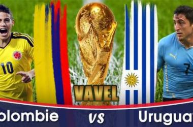 Live Coupe du monde 2014 : le match Colombie - Uruguay en direct