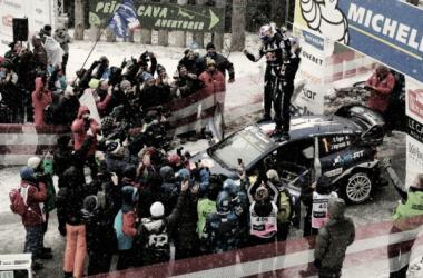 Sébastien Ogier celebra su última victoria en 2017 / foto vía fia.com
