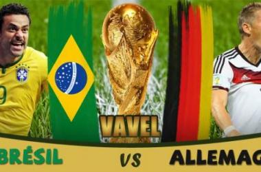 Live Coupe du Monde 2014 : Brésil - Allemagne en direct