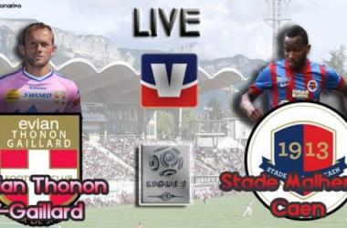 Live Ligue 1 : Évian Thonon-Gaillard - SM Caen, en direct