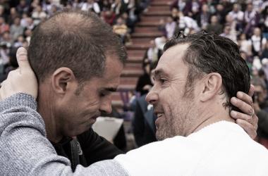 """Sergio González: """"La afición ha vuelto a demostrar que está a muerte con el equipo"""""""