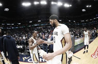Los Pelicans consiguen tres victorias claves en tres días. | Foto: NBA.com