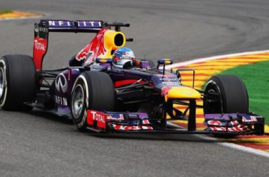 Vettel was never threatened at the head of the field at Monza, dominant yet again.