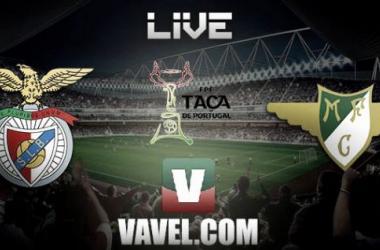 Resultado Benfica - Moreirense en la Taça de Portugal 2014 (4-1)