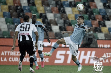 Lazio tropeça na Udinese e perde chance de encostar na líder Juventus