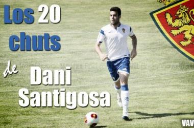Los 20 chuts de Dani Santigosa (Foto: Andrea Royo - VAVEL | Montaje: Javier Gimeno - VAVEL).