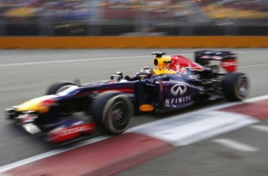 Vettel got the best out of his car, setting searing pace to win his third GP on the spin