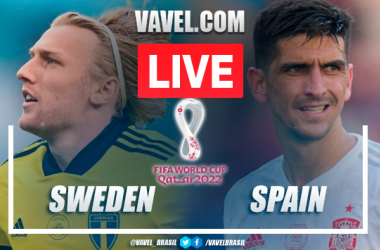 Goals and Highlights: Sweden 2-1 Spain at the World Cup Qualifiers