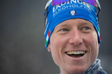 Victoire de Lukas Hofer sur ce sprint de Östersund.