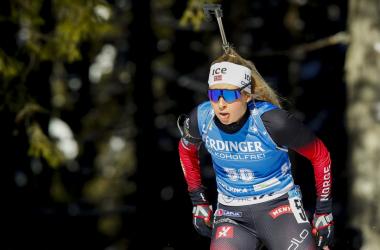 Ingrid Landmark Tandrevold remporte la mass-start et le petit globe de la spécialité.