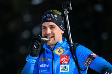Simon Desthieux remporte la dernière course de la saison.