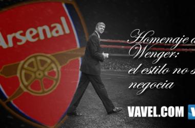 Homenaje a Wenger: el estilo no se negocia