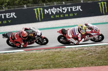 Sergio García y Jeremy Alcoba el GP de Catalunya / Fuente: MotoGP
