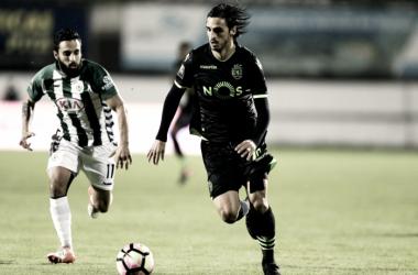 Vitória nas meias da Taça CTT: penalidade polémica elimina Sporting // Foto:LUSA/MIGUEL A. LOPES