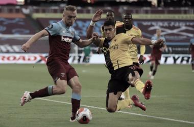 West Ham vence confronto decisivo com Watford e praticamente se salva do rebaixamento