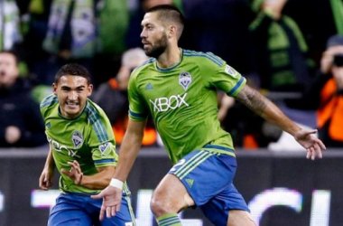 If it was not for Clint Dempsey's two goals against Club América on Tuesday all four Major League Soccer clubs would have been shutout of game one. Photo provided by Jennifer Nicholson-USA TODAY Sports.