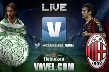 Diretta Celtic - Milan in Champions League