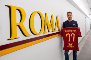 Roma- Mkhitaryan pronto per una maglia da titolare, insieme a Zaniolo agirà alle spalle di Dzeko