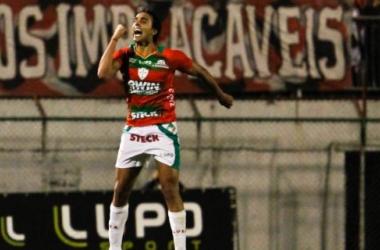 Atacante Diogo é o principal reforço do Palmeiras para 2014 (Foto: Divulgação)