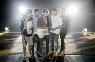 Una de las últimas fotos de One Direction como quinteto/Facebook:One Direction