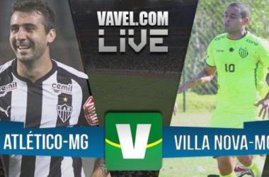 Atlético-MG 3 x 0 Villa Nova-MG: Galo domina jogo e está classificado para semifinal