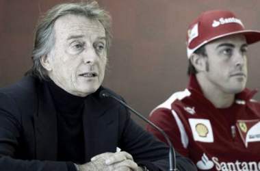 Luca di Montezemolo (à esq.) com Fernando Alonso em 2013 (Foto: Cordon Press).