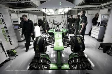 A Caterham tem as malas feitas para a última corrida da temporada (Foto: Caterham/LAT).