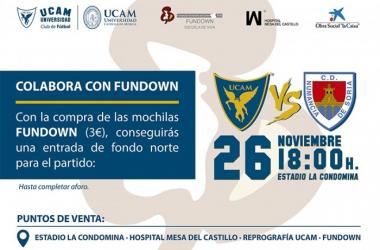 El UCAM Murcia y FUNDOWN se unen en la próxima jornada por una buena causa
