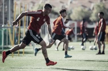 Plan de entrenamientos pensando en la visita del Atlético de Madrid