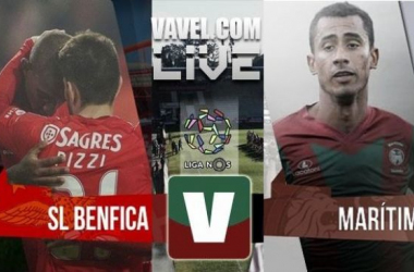 Resultado Benfica x Marítimo na Primeira Liga (4-1)