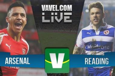 Resultado Arsenal x Reading pela FA CUP 2015 (2-1)
