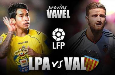 UD Las Palmas - Valencia CF: debut de Ayestarán en el Insular