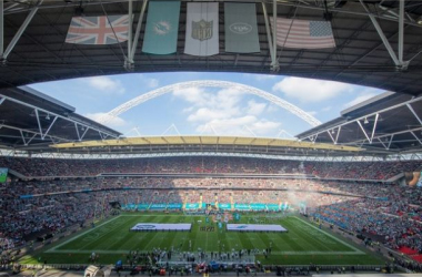Wembley will have hosted 14 games after Sunday's game between the Chiefs and the Lions