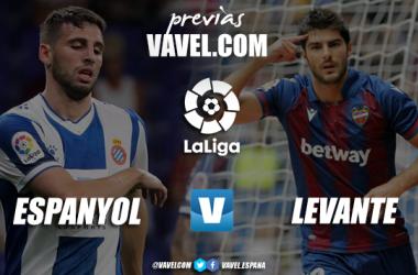 Previa Espanyol-Levante: la permanencia como objetivo común