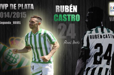 Rubén Castro: MVP VAVEL de la Liga Adelante 2014-15