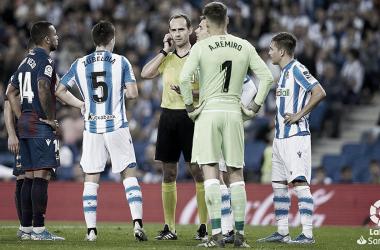 Melero López, en un Real Sociedad - Levante | Laliga