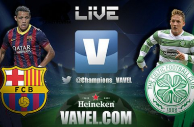 Live Barcellona - Celtic in Champions League