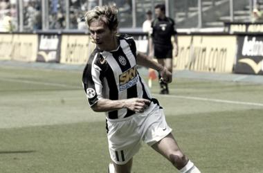 Nedved en un partido con la Juventus | Foto: FIFA