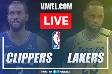 Resumen de Los Angeles Lakers vs Los Angeles Clippers en la NBA (103-101)