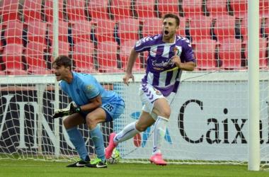 Real Valladolid. Delantera: buenas intenciones pero poco gol