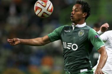 André Carrillo está suspenso pelo Sporting