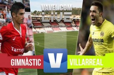 Resultado Nàstic - Villarreal (1-1)