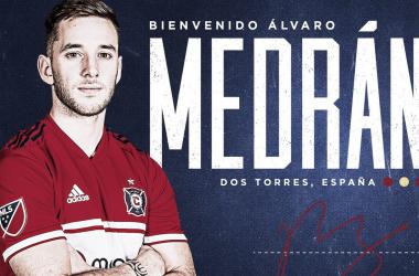 Álvaro Medrán se incorpora a Chicago Fire