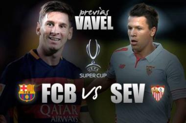 Pré-jogo: Barcelona e Sevilla fazem duelo espanhol pela Supercopa da Uefa