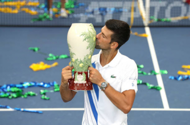 Western and Southern Open: Novak Djokovic beats Milos Raonic to win the title