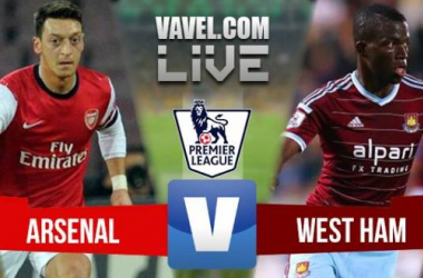 Resultado Arsenal x West Ham  pela Premier League 2015 (0x2)