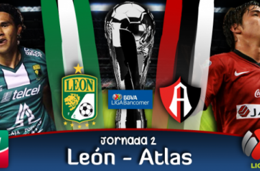 Resultado León - Atlas en  Liga MX 2014 (3-1)