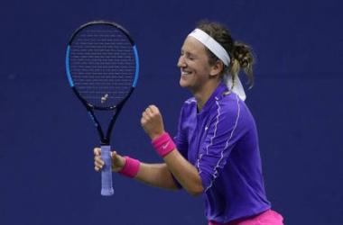 US Open: Victoria Azarenka makes light work of Elise Mertens to advance to the semifinal